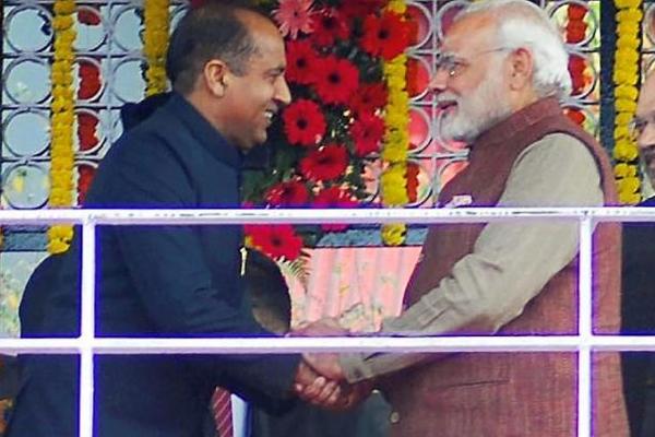 Modi wave rises from PM rally: Jayaram Thakur - Shimla News in Hindi